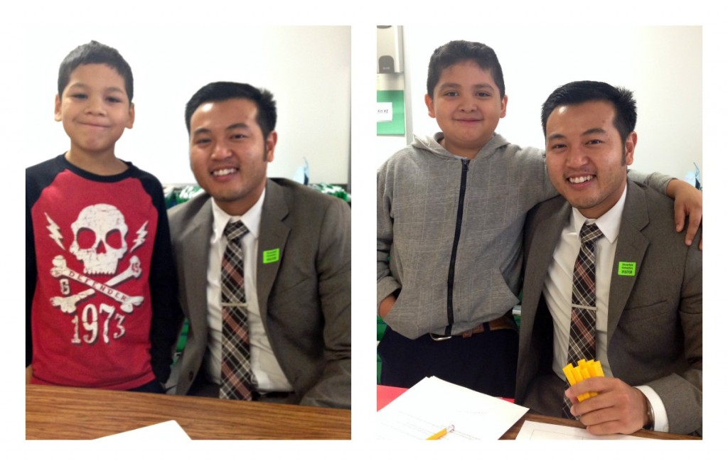 Ryan Hong Heart Math Tutoring Wells Fargo Winterfield Elementary